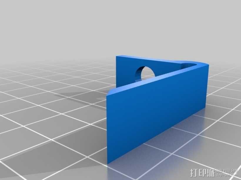 弹匣固定架 3D模型  图4