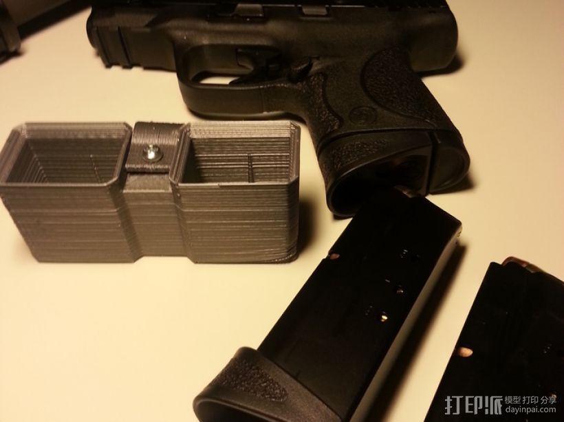弹匣固定架 3D模型  图7