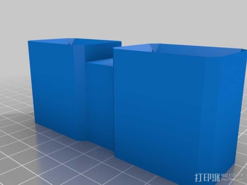 弹匣固定架 3D模型  图5