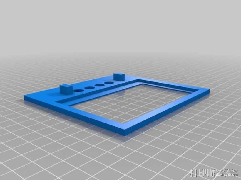 PiStation树莓派外壳 3D模型  图3