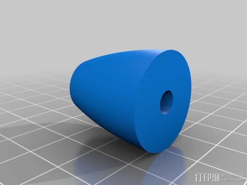麦克纳姆轮 机器人 3D模型  图5