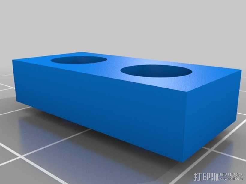 麦克纳姆轮 机器人 3D模型  图6