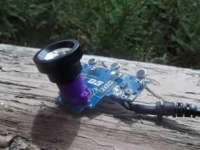 PS3相机镜头支架 3D模型