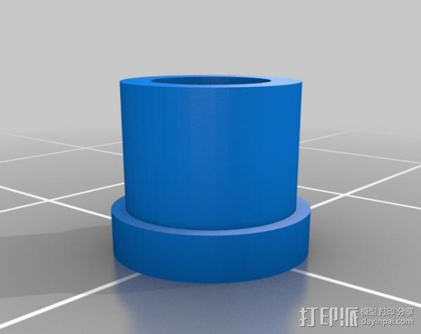 迷你钓鱼绕线器 3D模型  图4