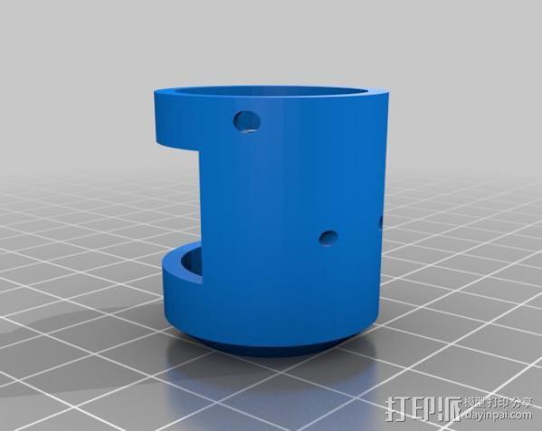 迷你钓鱼绕线器 3D模型  图6