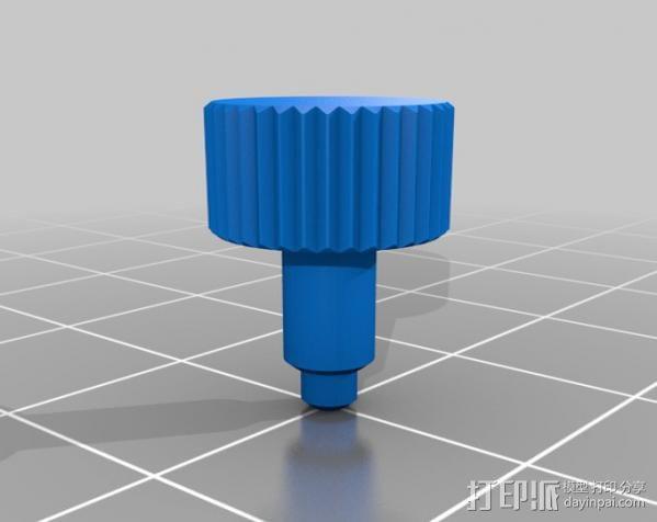 迷你钓鱼绕线器 3D模型  图5