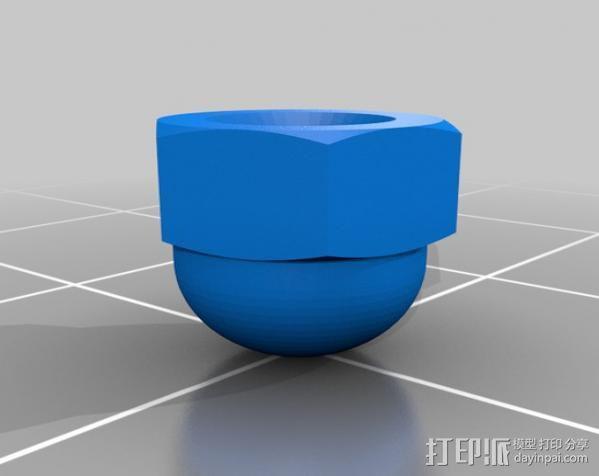 迷你钓鱼绕线器 3D模型  图8