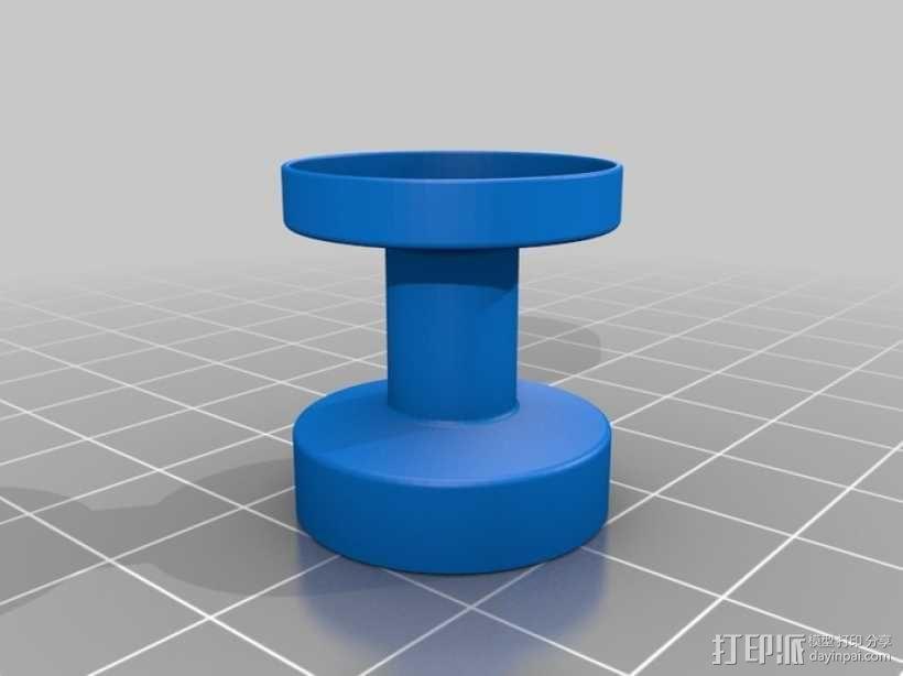 迷你钓鱼绕线器 3D模型  图12