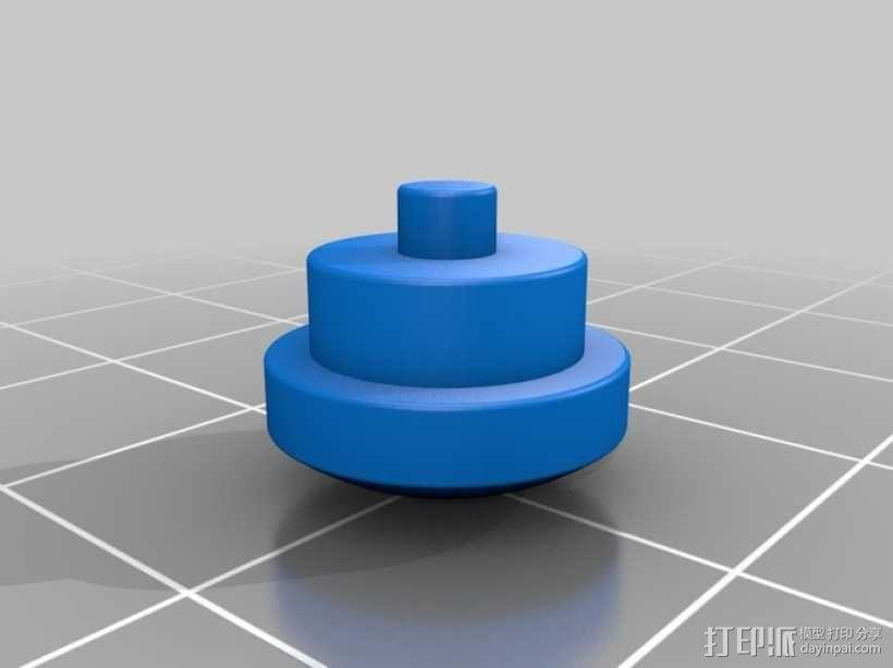 迷你钓鱼绕线器 3D模型  图14