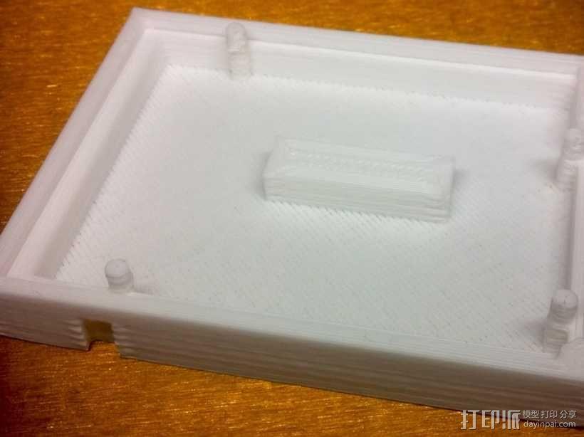Arduino Uno R3电路板外壳 3D模型  图4