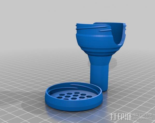 长号吹口保护套 3D模型  图3
