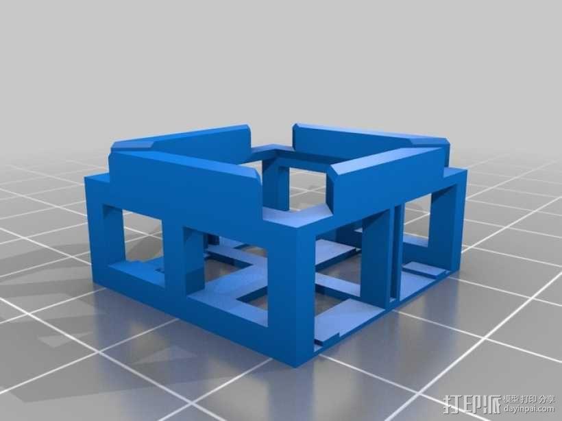 瓢虫 多轴飞行器框架 3D模型  图5