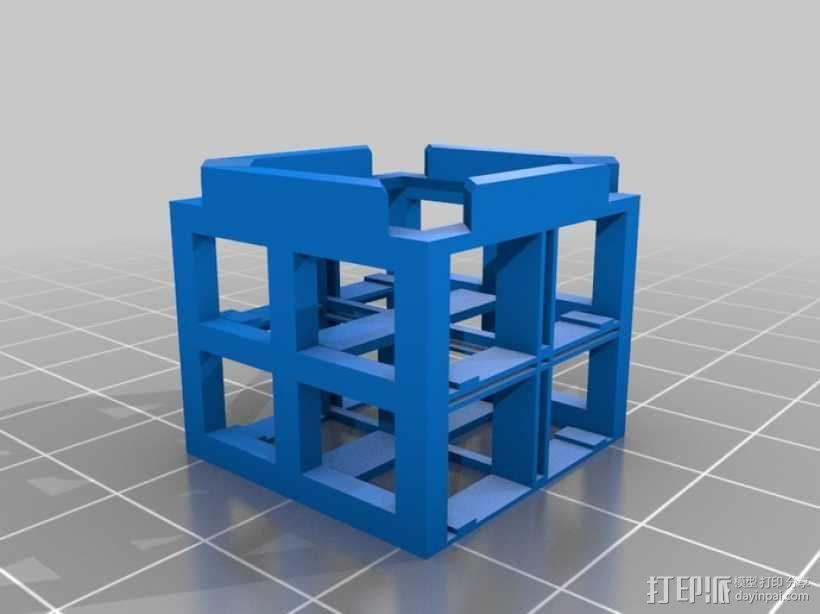 瓢虫 多轴飞行器框架 3D模型  图4