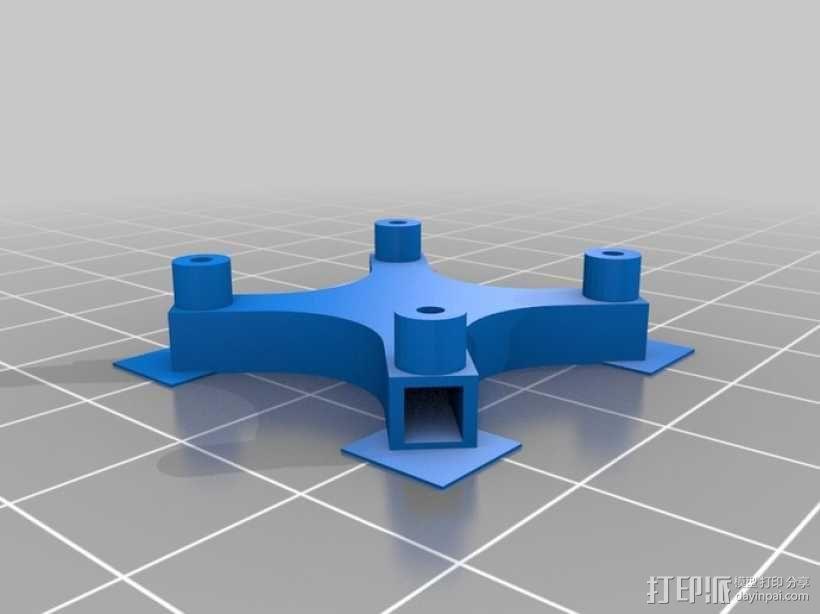 瓢虫 多轴飞行器框架 3D模型  图6