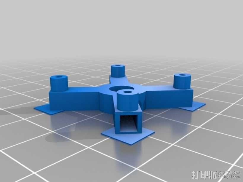 瓢虫 多轴飞行器框架 3D模型  图7