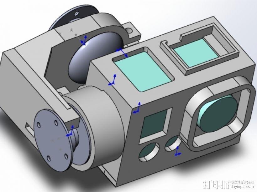 常平架 3D模型  图6