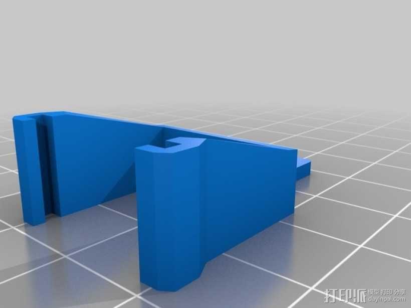 迷你机械臂抓爪 3D模型  图2
