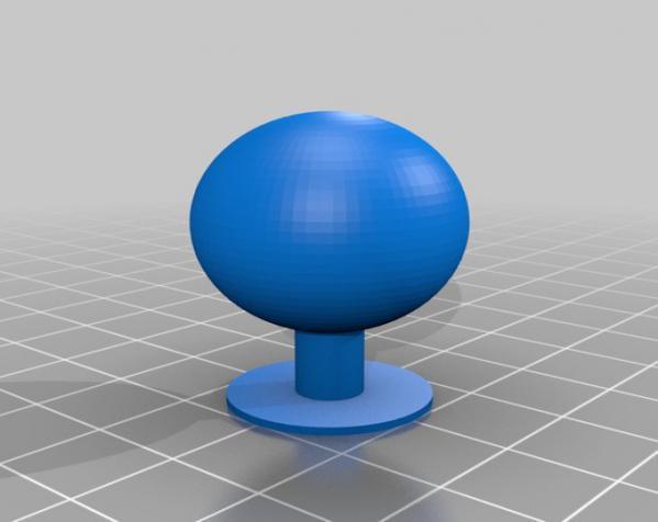 可焊接球和底座 3D模型  图2