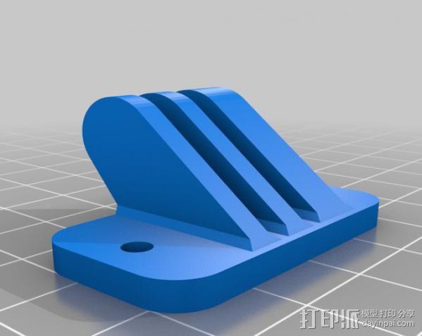 遥控赛车 GoPro相机支架 3D模型  图2
