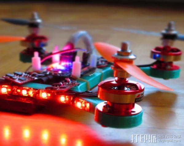 迷你四轴飞行器 3D模型  图2