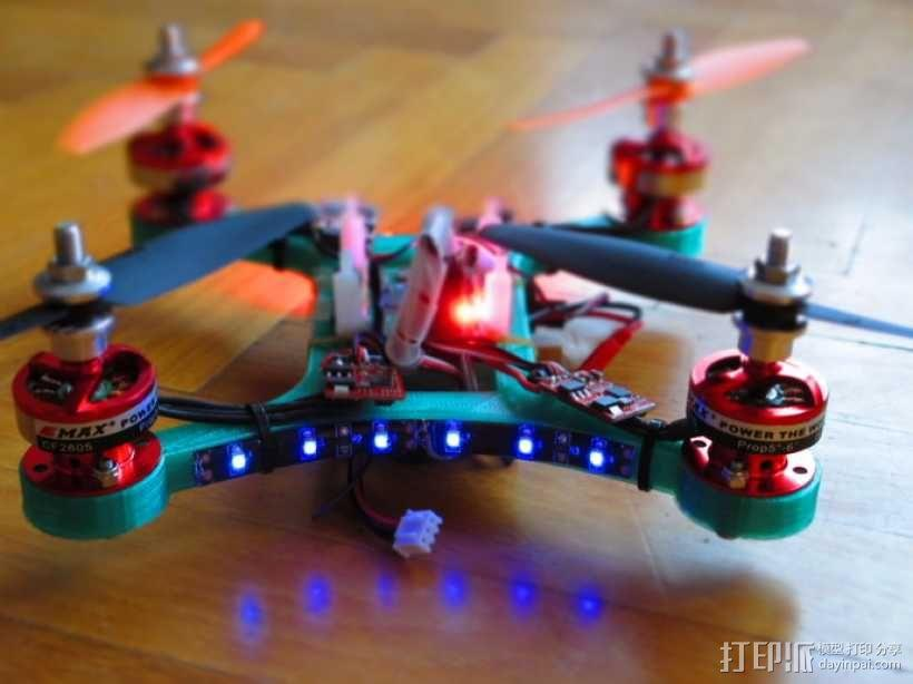 迷你四轴飞行器 3D模型  图6