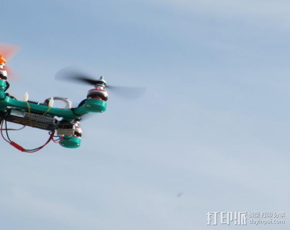 迷你四轴飞行器 3D模型  图7