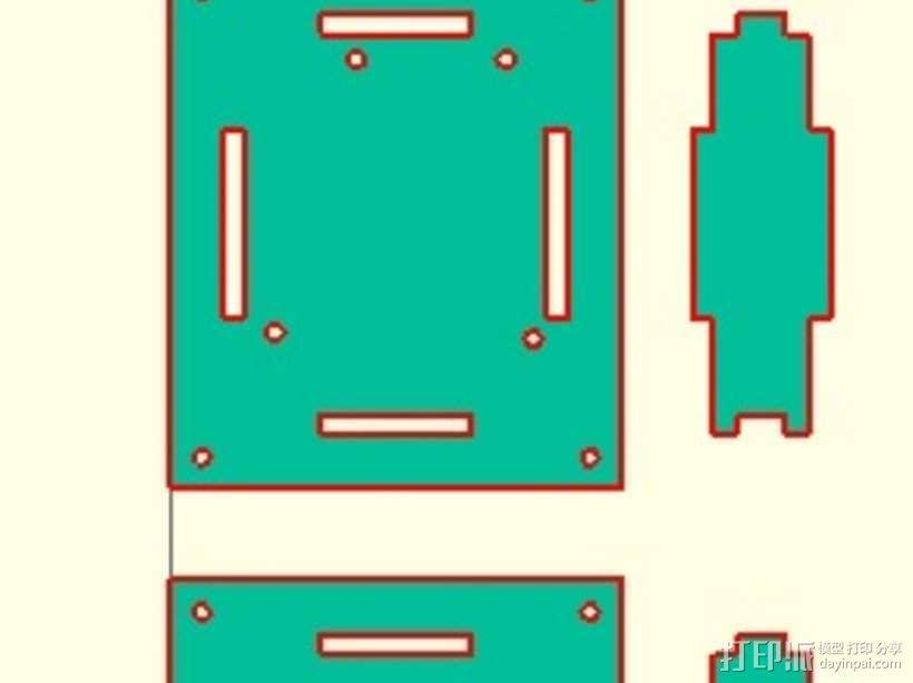 参数化arduino外壳 3D模型  图1