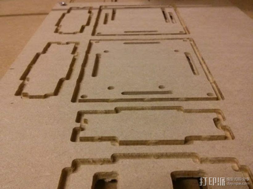参数化arduino外壳 3D模型  图2