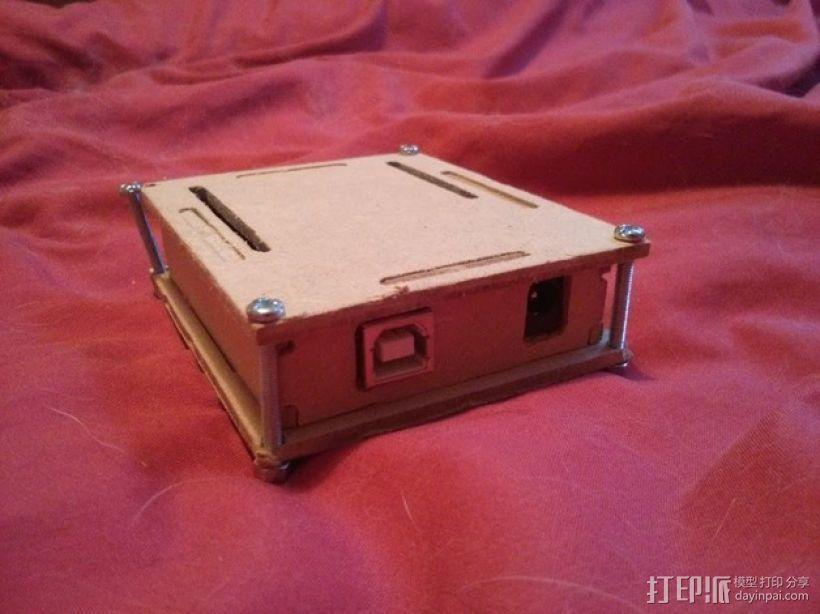 参数化arduino外壳 3D模型  图3