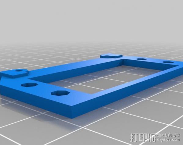 摄像头自动对焦齿轮 3D模型  图3