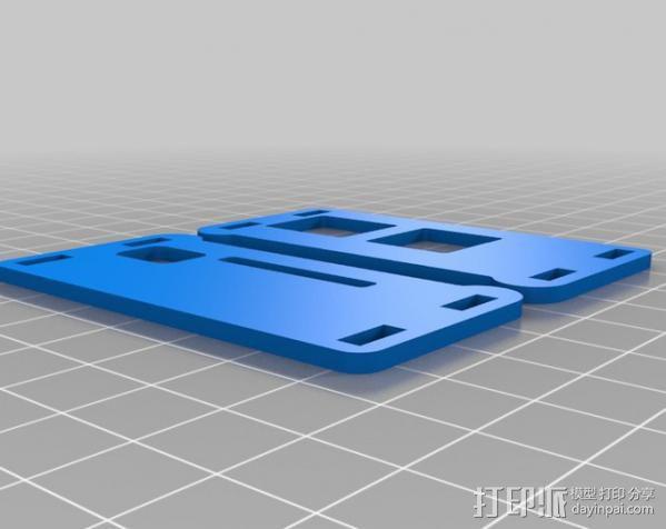 树莓派电路板外壳 3D模型  图4