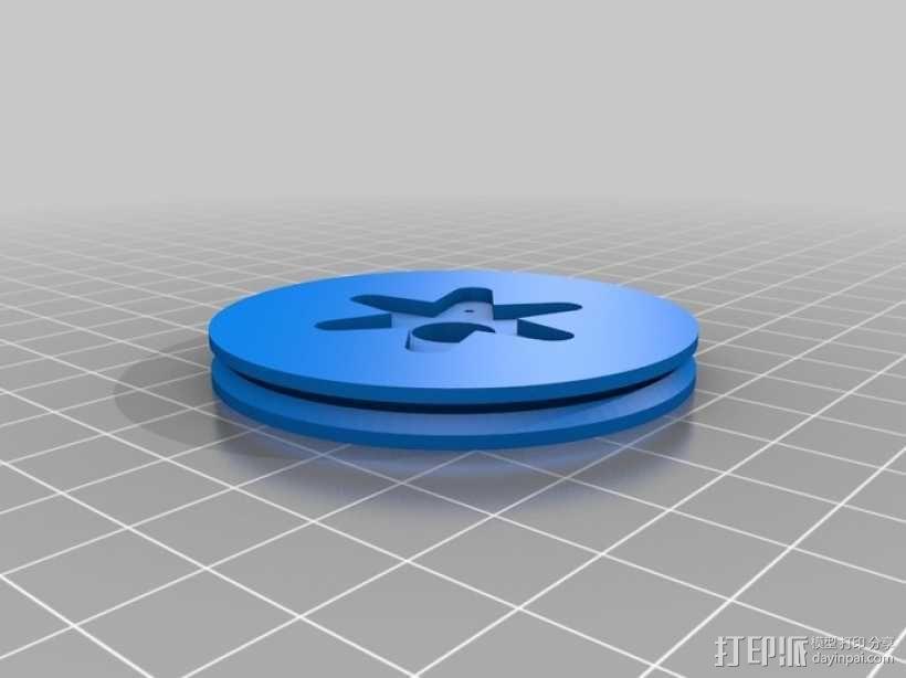 Miniskybot 2机器人 3D模型  图4