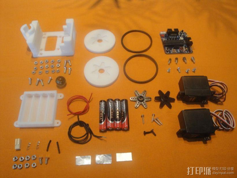 Miniskybot 2机器人 3D模型  图8