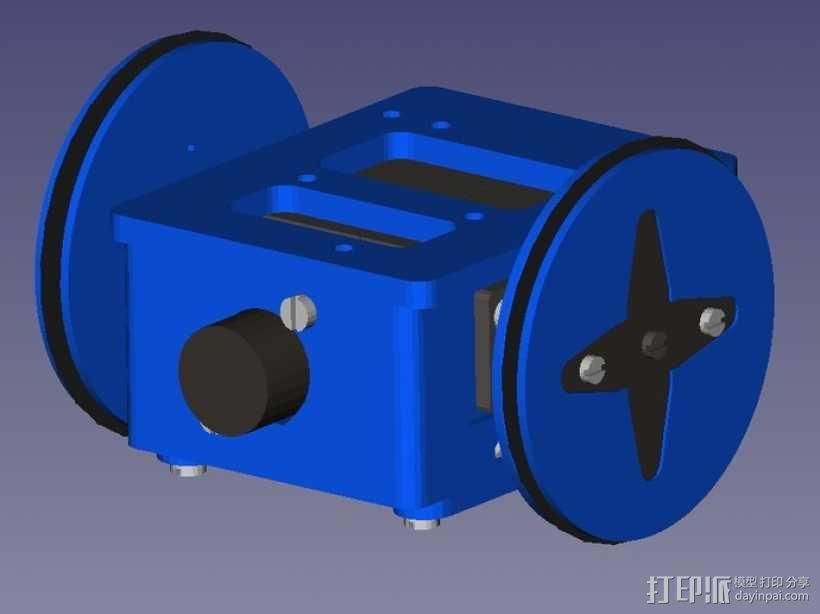 Miniskybot 2机器人 3D模型  图12