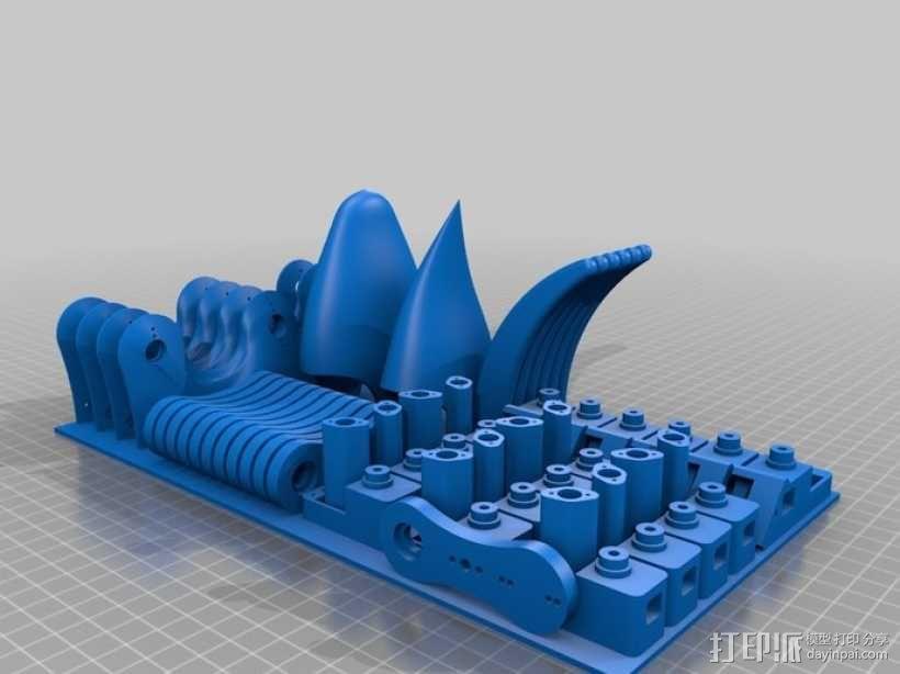 六足机器人 3D模型  图11