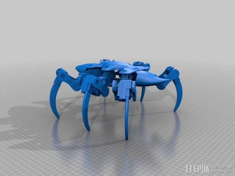 六足机器人 3D模型  图12