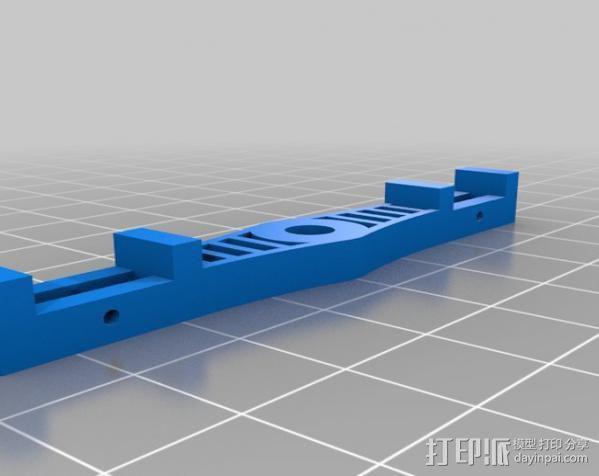 三轴飞行器 3d模型 图9图片