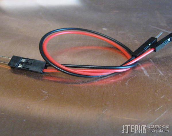 电路试验板配适器 3D模型  图2