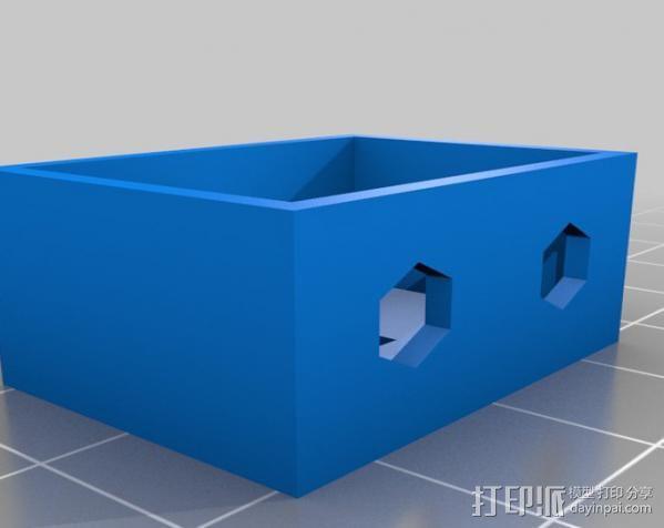 电路试验板配适器 3D模型  图4