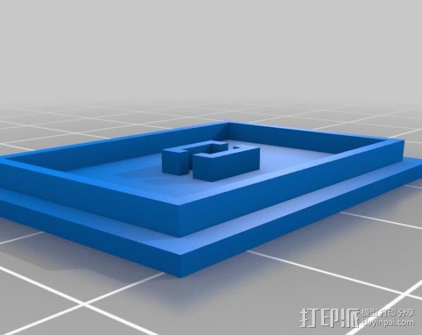 电路试验板配适器 3D模型  图5