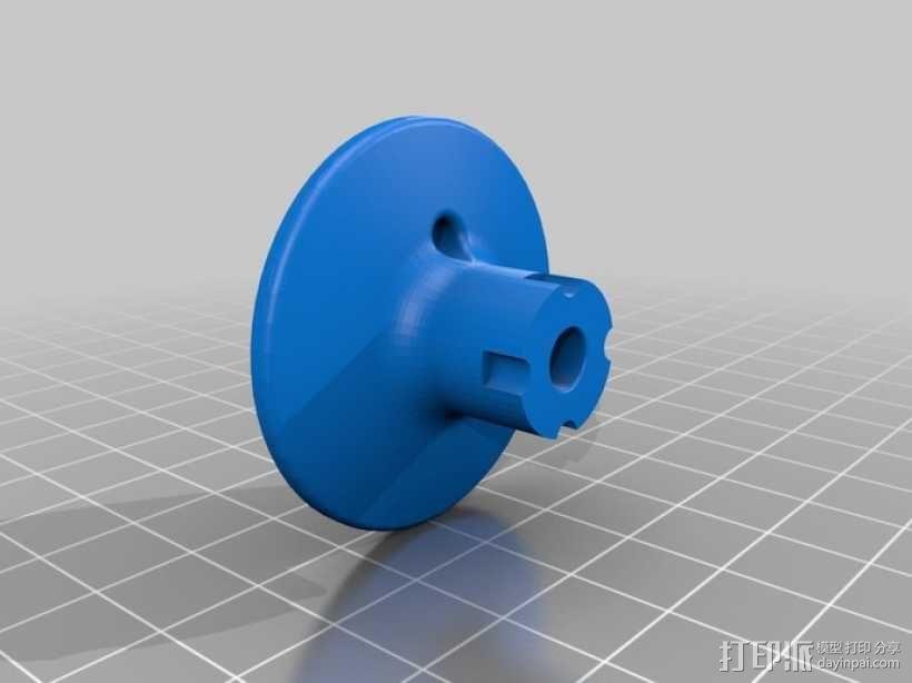 迷你起重装置 3D模型  图3