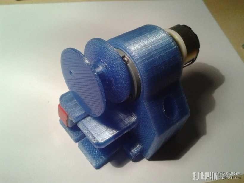 迷你起重装置 3D模型  图1