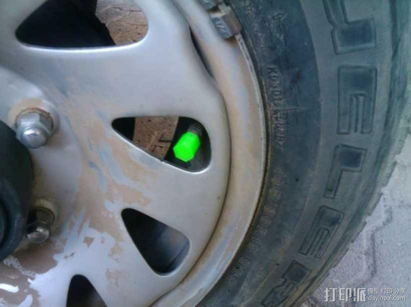 轮胎气门嘴 3D模型  图1