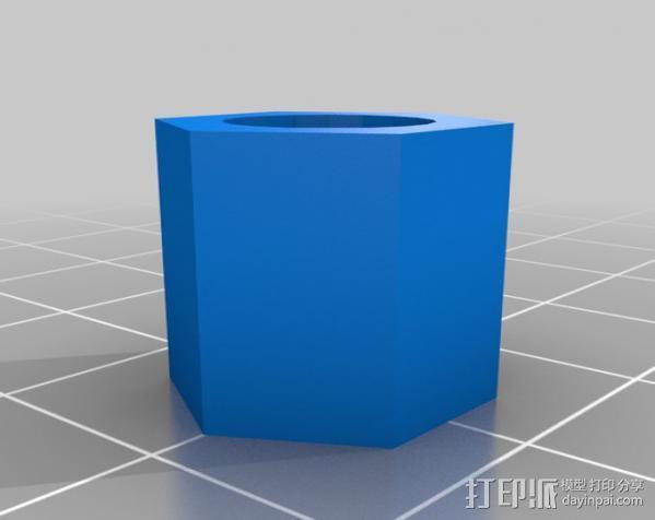轮胎气门嘴 3D模型  图3
