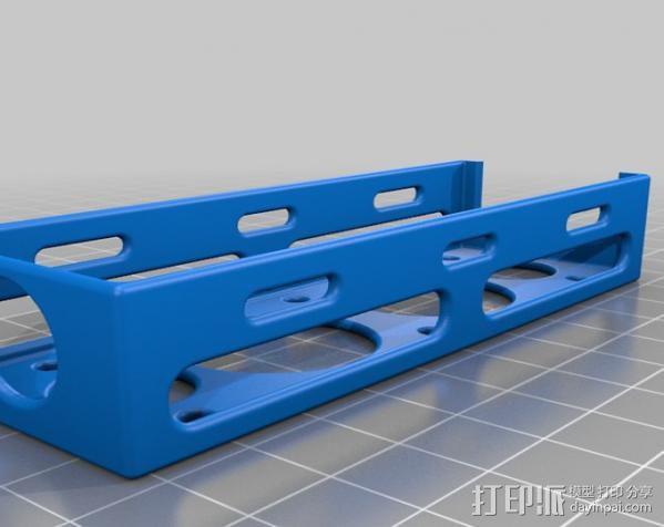 电池托盘 3D模型  图2