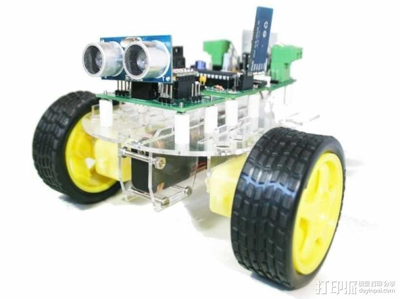 Versalino Rove 2机器人平台 3D模型  图2