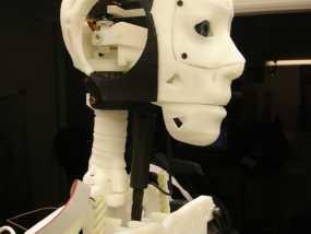 Inmoov机器人颈部 3D模型