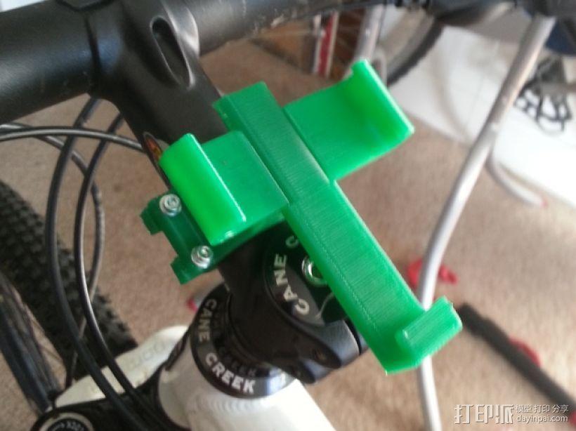自行车 三星Galaxy S3手机架 3D模型  图1