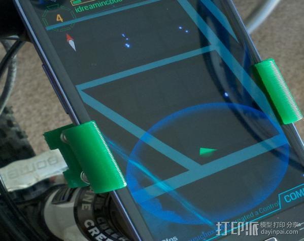 自行车 三星Galaxy S3手机架 3D模型  图4