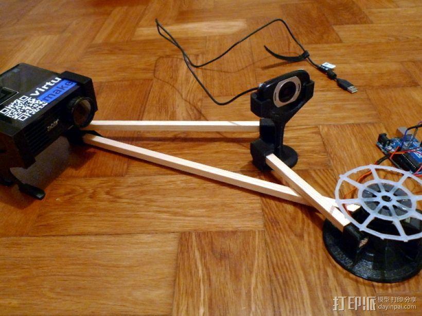 VirtuCube 3D扫描仪 3D模型  图1
